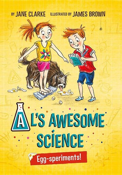 Al's Awesome Science | Author Q&A with Jane Clarke