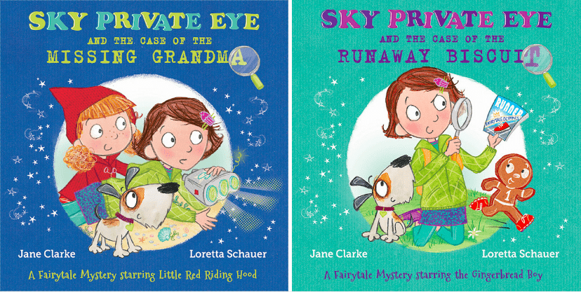 Sky Private Eye Picture Book UK Covers 2017