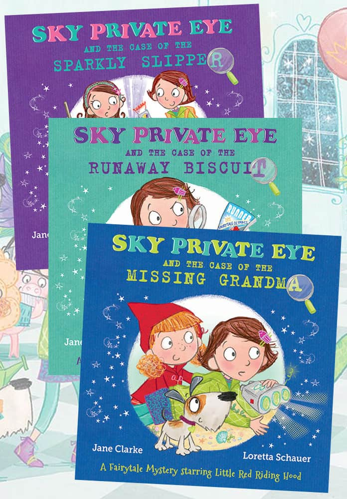 Sky Private Eye Book Bundle
